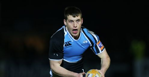 Mark Bennett for Glasgow Warriors