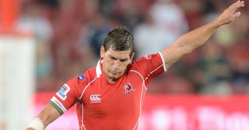 Marnitz Boshoff Lions Super rugby kick