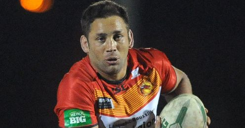 Olivier Elima Catalan Dragons 2014