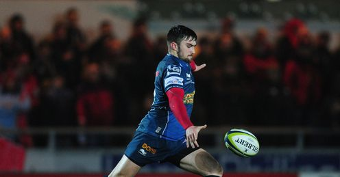 Scarlets edge past Edinburgh