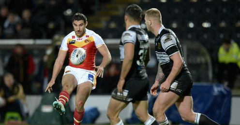 Thomas Bosc Hull FC v Catalan Dragons