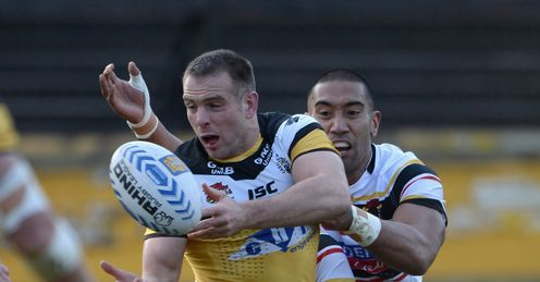 Andy Lynch Castleford Tigers Super League