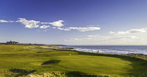 Royal Porthcawl, where the sea is always in view