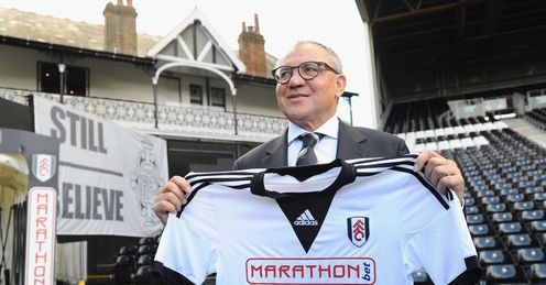 Felix Magath: the right man to save Fulham?