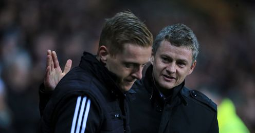 Monk: Enjoyed a huge win over Solskjaer
