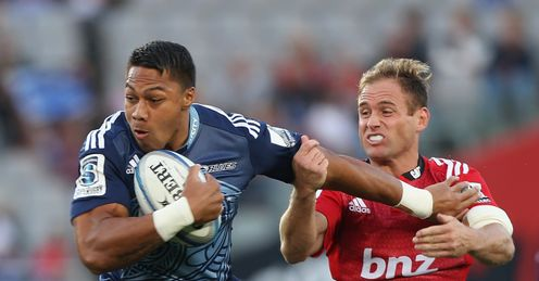 George Moala Blues Super Rugby