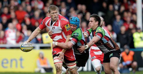 GLOUCESTER HARLEQUINS JAMES HUDSON