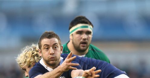 Greig Laidlaw Scotland Six Nations Dublin
