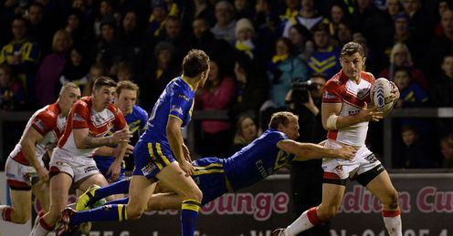 Jon Wilkin St Helens Halliwell Jones Stadium Super League