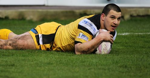 JUSTIN CARNEY CASTLEFORD TIGERS SUPER LEAGUE