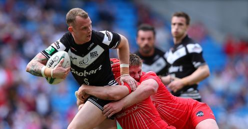 Kevin Brown Widnes Vikings Super League