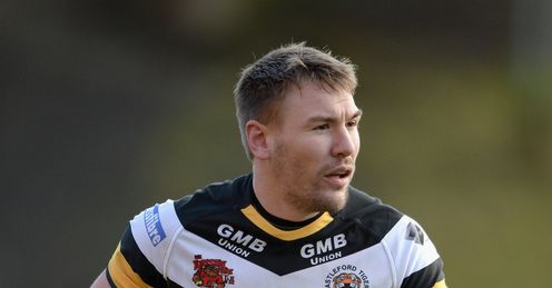 Michael Shenton Castleford Tigers Super League