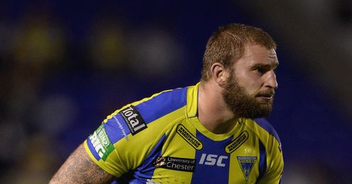 PAUL WOOD WARRINGTON WOLVES SUPER LEAGUE