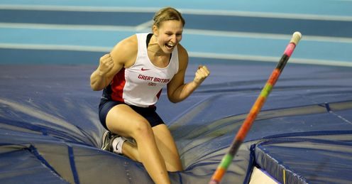 Phil Clarke will mentor British pole vault star Holly Bleasdale