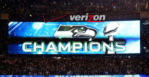 Shining bright: Seattle stole the show so not surprisingly they dominate Neil's final Pick Six of the season.