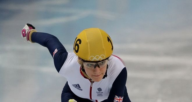Elise Christie stopped in to Sky Sports News to talk about her frustrating Winter Olympics