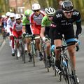 24 hours after winning Omloop Het Nieuwsblad Ian Stannard was chasing hard