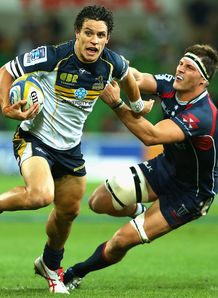 Matt Toomua Rebels v Brumbies