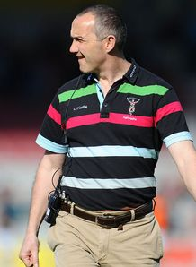 Aviva Premiership: Conor O'Shea ready for play-off fight after Harlequins beat Sale