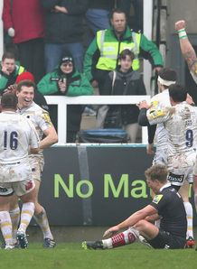 worcester warriors newcastle