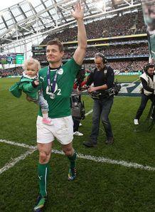 Brian O Driscoll farewell Dublin 2014