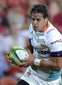 Francois Venter on a run for Cheetahs