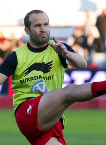 Frederic Michalak Toluon training Top 14 2014