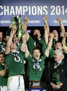 Ireland Six Nations celeb 2014