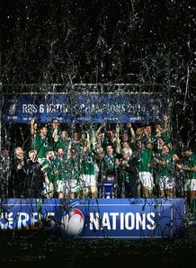 Ireland in darkness with Six Nations trophy