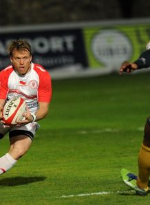Joe Pietersen in action for Biarritz in the Top 14
