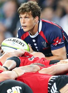 Luke Burgess Rebels v Crusaders SR 2014