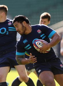 Manu Tuilagi England training session held at Twickenham