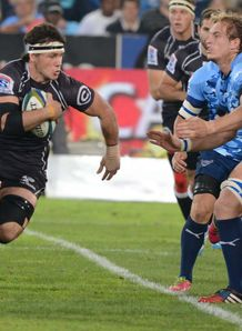 Marcell Coetzee of the Sharks Super Rugby v Bulls