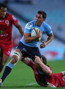 Nick phipps Waratahs v Reds Super Rugby 2014