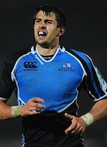 Peter Murchie in action for Glasgow Warriors