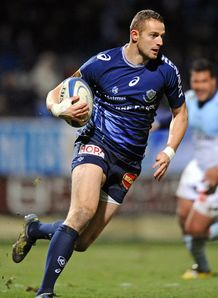 Romain Martial in action for Castres
