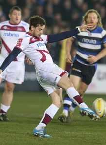 Sale fly half Danny Cipriani kicking for territory