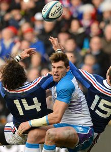 Scotland v France: Sean Lamont