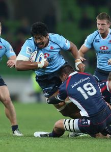 Waratahs lock Will Skelton in 2013