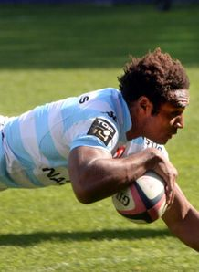 benjamin fall scores for racing metro v stade francais