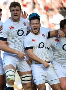 Danny Care England Joe Launchbury Luther Burrell Dylan Hartley Six Nations Rugby union Twickenham