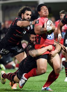 david smith tackled toulon v toulouse