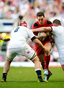 England Wales Six Nations George North