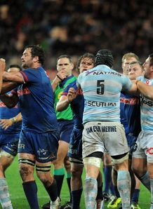 fight Top 14 Grenoble vs Racing Metro
