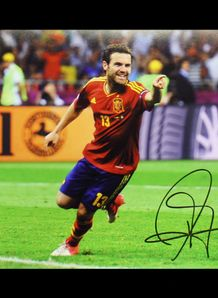 Mata Signed Photo