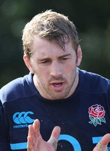 Chris Robshaw England training