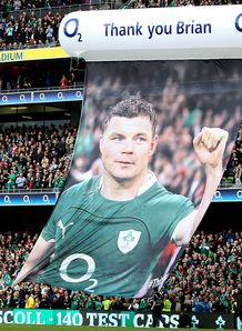 thank you message for Brian O Driscoll