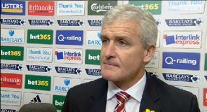 Stoke City v Arsenal – Hughes