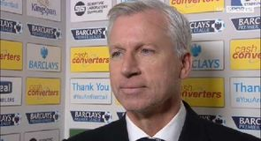 Pardew apologises for incident