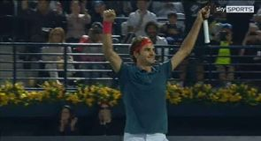 Federer crowned Dubai king